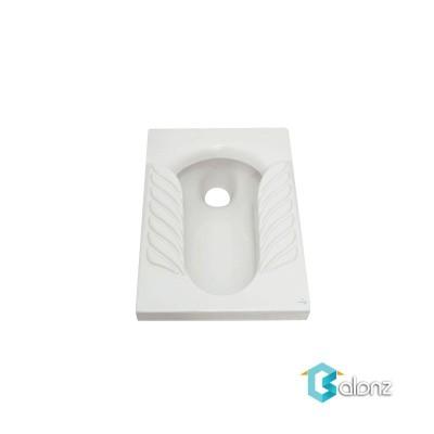 توالت زمینی گلسار مدل یاس بسته
