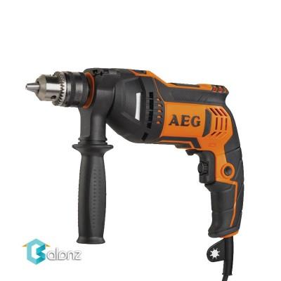 دریل 13 AEG چکشی الکترونیک توان 705W مدلSBE705RZ
