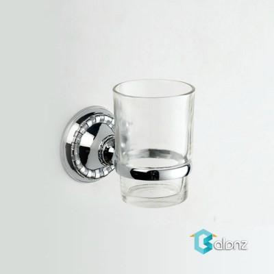 جا مسواک شیشه ای مات nice house مدل برلیانت7