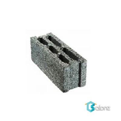 بلوک دیواری لیکا تو خالی 3 جداره ابعاد 20*17/5*49