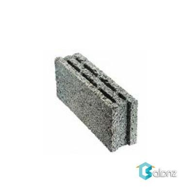 بلوک دیواری لیکا تو خالی 3 جداره ابعاد 20*14/5*49