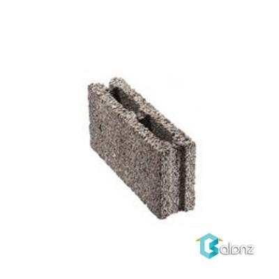 بلوک دیواری لیکا تو خالی 2 جداره ابعاد 20*14/5*49