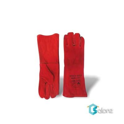 دستکش جوشکاري ساق بلند