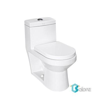 توالت فرنگی دو تکه چینی کرد مدل فیتونیا