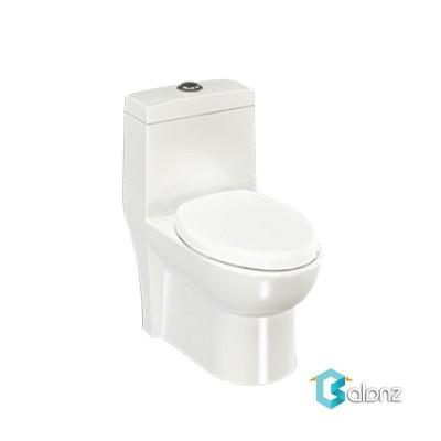 توالت فرنگی یک تکه چینی کرد مدل کارینا