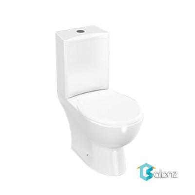 توالت فرنگی دو تکه چینی کرد مدل کاملیا