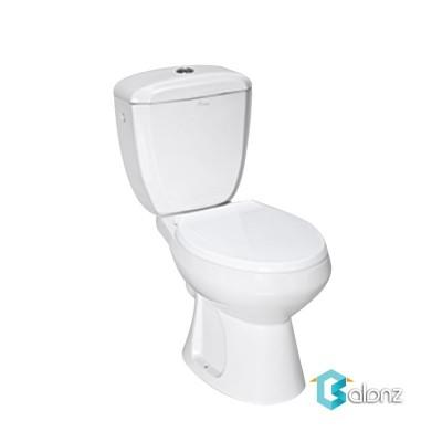 توالت فرنگی دو تکه چینی کرد مدل تولیپ