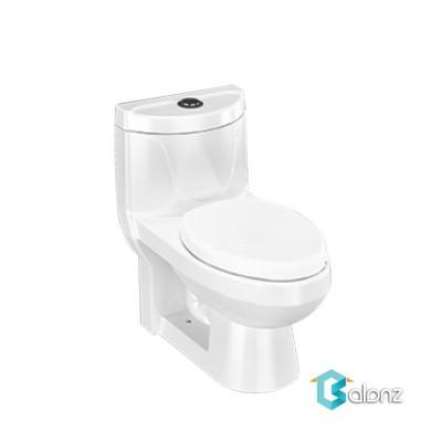 توالت فرنگی یک تکه چینی کرد مدل دافنه