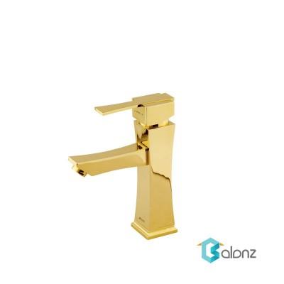 شیر روشویی Shouder مدل Impro طلا براق