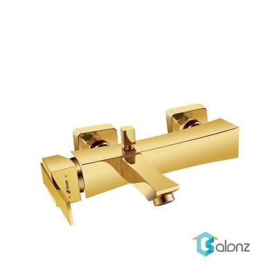 شیر دوش Shouder مدل Impro طلا براق