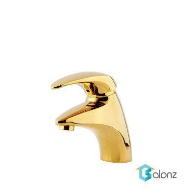 شیر روشویی Shouder مدل Senior طلا براق